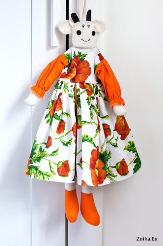 """Maišelių dėtuvė """"Oranžinių aguonų deivė"""""""